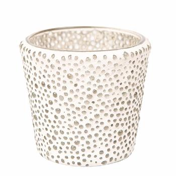 Support votive bubble mosaic Yankee Candle