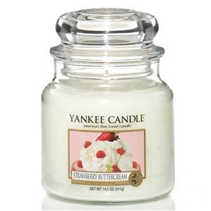 Moyenne Jarre Strawberry Buttercream Yankee Candle