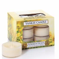 Boite De 12 Lumignons Flowers In The Sun Yankee Candle