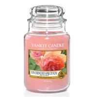 Grande Jarre Sun-Drenched Apricot Rose Yankee Candle