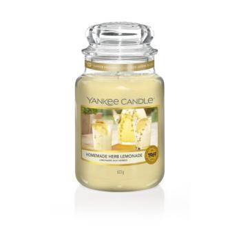 Yankee Candle Grande Jarre Homemade Herb Limonade