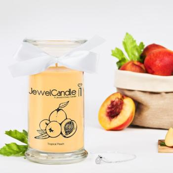 Tropical Peach (Collier) Jewel Candle