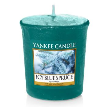 Bougie Votive Icy Blue Spruce / Sapin enneigé  Yankee Candle
