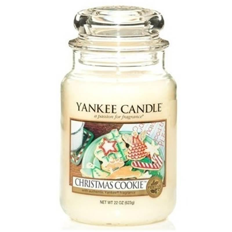Yankee candle grande jarre christmas cookie cookie de no l - Yankee candle calendrier de l avent ...