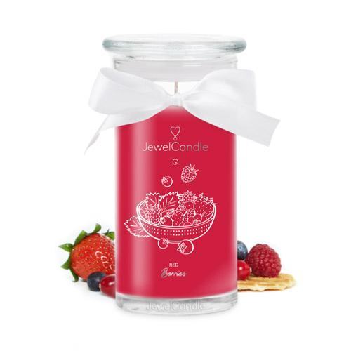 Bougie Red Berries Collier Jewel Candle