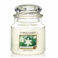 Moyenne Jarre Sparkling Snow Yankee Candle