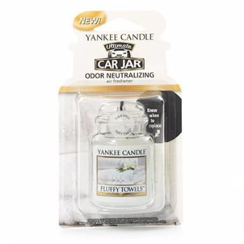 Ultimate Car Jar Fluffy Towels Yankee Candle