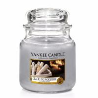 Moyenne Jarre Crackling Wood Fire Yankee Candle