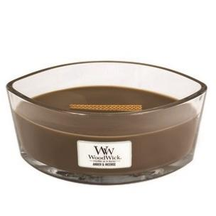 ellipse Woodwick bougie ambre