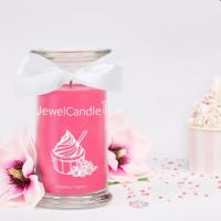 Raspberry Yoghurt (Bague Taille S) Jewel Candle