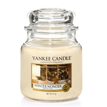 Moyenne Jarre Winter Wonder / Merveille d'hiver Yankee Candle