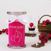 Pink Cherry (Bague Taille L) Jewel Candle
