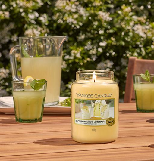 Homemade Herb Limonade YANKEE CANDLE