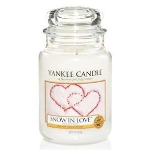 Candle Store GRANDE JARRE SNOW IN LOVE / L'AMOUR D'HIVER YANKEE CANDLE