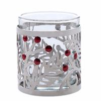 Photophore pour bougie votive Pine and Berry