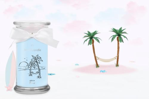 Bougie Life is a Beach Bracelet Jewel Candle
