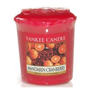 Votive Mandarin Cramberries Yankee Candle