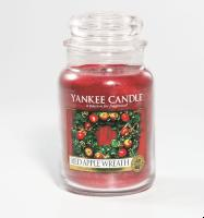 Grande Jarre Red Apple Wreath Yankee Candle