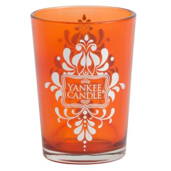 Photophore Grand Bazar Bois d'agar ORANGE  Yankee Candle