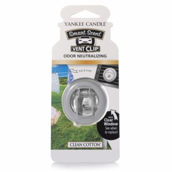 Clip Smart Scent Clean Cotton Yankee Candle