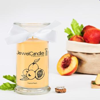 Tropical Peach (Bague Taille M) Jewel Candle