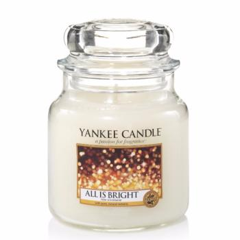 Moyenne Jarre All Is Bright / Fête Scintillante Yankee Candle
