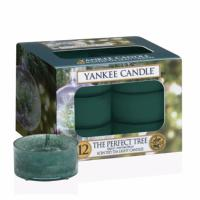 Boite De 12 Lumignons The Perfect Tree Yankee Candle