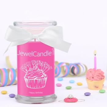 Happy Birthday Bracelet Jewel Candle
