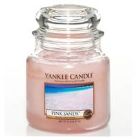 Moyenne Jarre Pink Sand / Sable Rose Yankee Candle