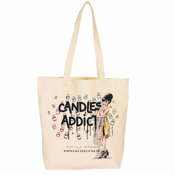 Tote Bag Candle Addict