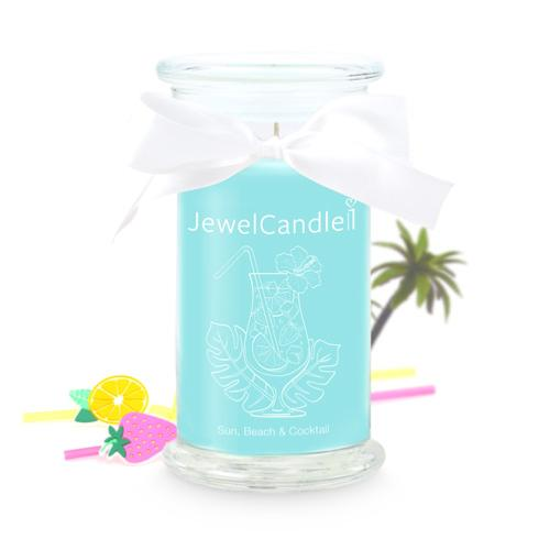 Bougie Sun, Beach & Coktail Boucles d' Oreille Jewel Candle