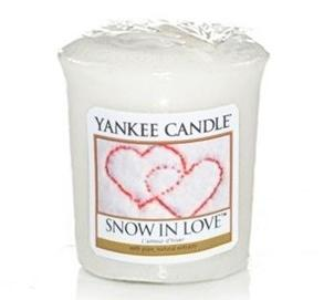 Votive Snow in love / l'amour d'hiver