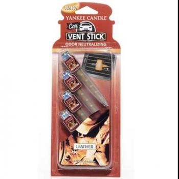 Vent Stick Leather ( Cuir ) Yankee Candle