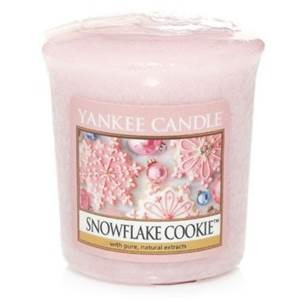 Votive Snowflake Cookie / Flocon Sucrées Yankee Candle