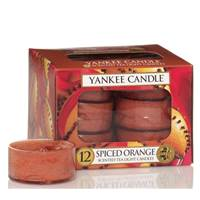 Boites De 12 Lumignons Spiced Orange Yankee Candle