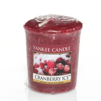 Bougie Votive  Cranberry Ice / Canneberge givré Yankee Candle