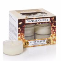 Boite De 12 Lumignons All Is Bright / Fête Scintillante Yankee Candle