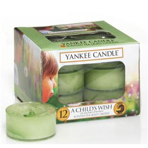 Boite de 12 lumignons Child's Wish Yankee Candle