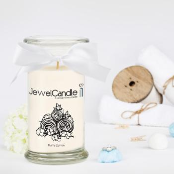 Fluffy Cotton (Bague Taille S) Jewel Candle