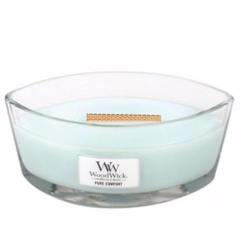 Bougie Ellipse Pure Confort Woodwick