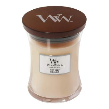 Moyenne Jarre White Honey Woodwick