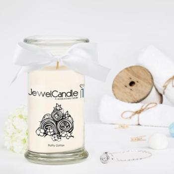 Fluffy Cotton (Collier) Jewel Candle