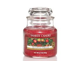 Petite Jarre Red Apple Wreath Yankee Candle