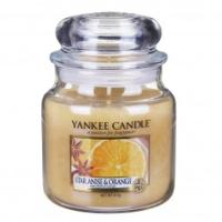 Moyenne Jarre Star Anise & Orange Yankee Candle