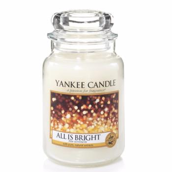 Grande Jarre All Is Bright / Fête Scintillante Yankee Candle