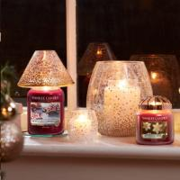 Grande Jarre Frosty Gingerbread / Pain d'épices Yankee Candle