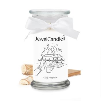 Cozy Fireplace (Bague Taille S) Jewel Candle