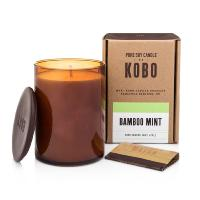 Bougie Kobo Woodblock Bamboo Mint 425g Kobo