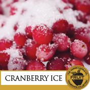 Cranberry ice / Canneberge givrée