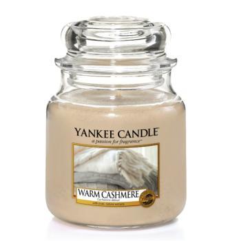 Moyenne jarre Warm Cashmere / Cachemire délicat de Yankee Candle